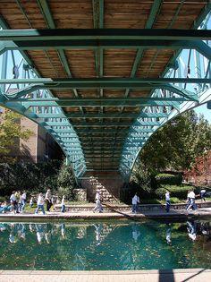 Canal Walk, Indianapolis, Indiana. Photo: mrgraphics via Flickr
