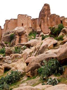 Tafraout - Anti Atlas Marocain
