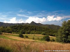 Oštrc peak of the mountains of Samobor - north-west of Zagreb - Croatia