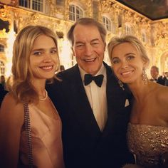 with Charlie Rose @charlieroseshow and Corinna zu Sayn Wittgenstein, my top highlights of #speif2015.