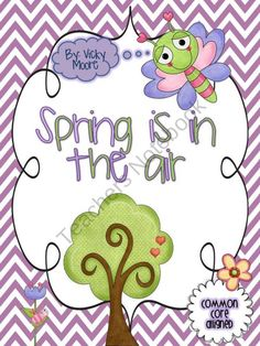 Spring Unit  ELA, Math, Common Core  product from traditionslaughter on TeachersNotebook.com