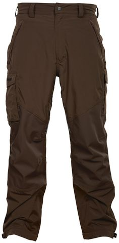 From the Bergans of Norway hunting collection: The Budor pants are waterproof, windproof, and have stretch.