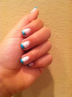 Blue and yellow polka rate it 1 10 1 i dont like it i would easy nail art for beginners prinsesfo Image collections