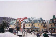 Mont Tremblant ski resort, Quebec Canada