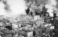 The 1906 San Francisco earthquake struck the coast of Northern California at 5:12 a.m. on April 18 with an estimated moment magnitude of 7.8 and a maximum Mercalli intensity of XI. Severe shaking was felt from Eureka on the North Coast to the Salinas Valley, an agricultural region to the south of the San Francisco Bay Area. Devastating fires soon broke out in the city and lasted for several days. As a result, about 3,000 people died and over 80% of the city of San Francisco was destroyed.