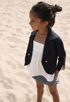 lil blazer love -- makes me look forward to having a little girl someday