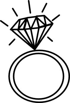engagement ring outline clip art 2 pinteres rh pinterest com wedding ring clipart ring clipart no background