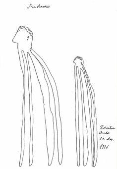 Gugging artist Oswald Tschirtner, in RV 123. http://rawvision.com/shop/raw-vision-123