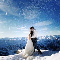 winter wedding Courchevel
