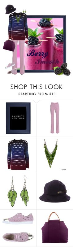 """""""Berry Smooth"""" by kbarkstyle ❤ liked on Polyvore featuring Barneys New York, Alexander McQueen, Kenzo, Alexa Starr, Henry Cotton's, Ilaria Ranieri and Hermès"""
