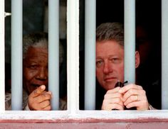 Nelson Mandela - President Bill Clinton