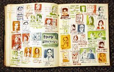 People I befriended - from Italy sketchbook by Sketchbuch