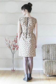 Robe Casablanca - Romanne (modèle : robe Marie, République du Chiffon