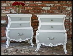 Mary Beth's Place: Bombe Chest Makeover