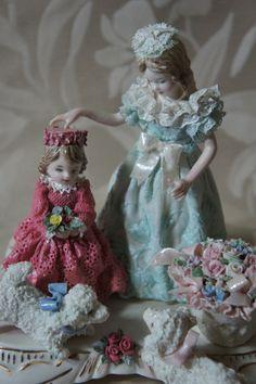 Porcelain Keiko Lace Dolls