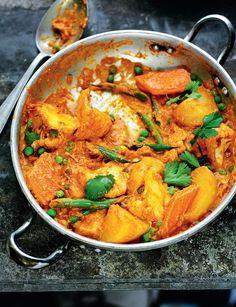 Vegetable Makhanawala - The Happy Foodie
