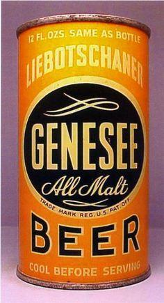 Genesee Liebotschaner All Malt Beer , Rochester NY - 1930's
