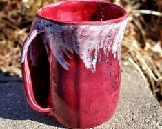 Hand Thrown Pottery and Ceramics by DragonflyCorners on Etsy Hand Thrown Pottery, Moscow Mule Mugs, Ceramics, Tableware, Handmade Gifts, Etsy, Ideas, Ceramica, Kid Craft Gifts