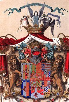 Escudo Osuna-Beaufort - Ducado de Osuna - Wikipedia, la enciclopedia libre