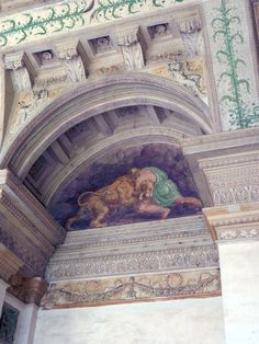 Palazzo Te- Loggia of David
