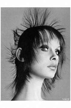 Jean Shrimpton - photo by Richard Avedon for Vogue Italia July 1971