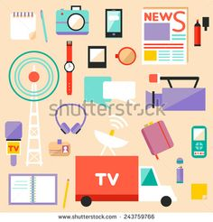 Watching Tv Stock Vectors & Vector Clip Art | Shutterstock