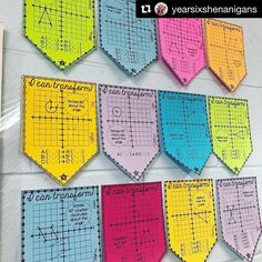 Thank you so much for sharing my geometric transformations pennants Transformations Math, Geometric Transformations, Teaching Geometry, Teaching Math, Teaching Ideas, Math Resources, Math Activities, Teaching Displays, Math Classroom Decorations