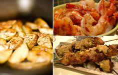 Er du endelig ferdig med semesteret,bachelorgraden eller mastergraden? Detbørfeires med god mat. Tapas, Shrimp, Food And Drink, Chicken, Meat, Cubs
