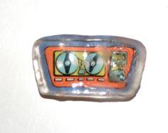"Vintage Kenner Maskatron Bottom Chest Piece for 13"" AF Six Million Dollar Man | eBay"