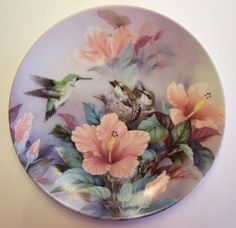 Collector Plate by Lena Liu Nature's Harmony