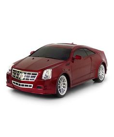 Take a look at this Red Remote Control Cadillac CTS by Brooklyn Lollipop on #zulily today!