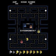 EXTERMINATE!!!! Best Pac-Man game ever!
