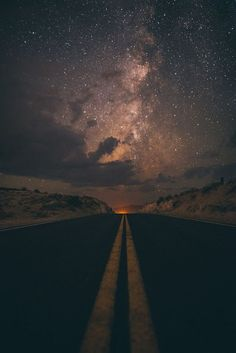 Road with dark clouds wallpaper Phone Backgrounds, Wallpaper Backgrounds, Beautiful World, Beautiful Places, Landscape Photography, Nature Photography, Digital Foto, Sky Full Of Stars, Sky Aesthetic