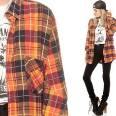[Love Culture] Plaid Long Sleeve Plaid long sleeve shirt from Love Culture. In good condition, no rips or stains. Bundle & Save just ask me :) Tops Button Down Shirts