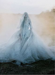 candentia: Kristen McMenamy by Tim Walker Dress and veil: Elie Saab Haute Couture S/S 2013 The Sunday Times Style September 2013 Richard Avedon, Editorial Photography, Art Photography, Fashion Photography, Jean Paul Goude, Tim Walker Photography, Foto Art, Elie Saab, Ethereal