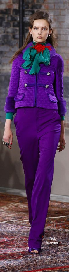 Gucci Resort 2016 Women's RTW | Purely Inspiration