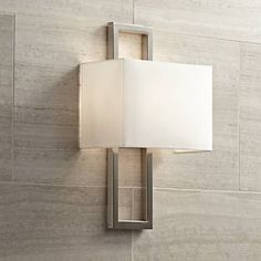 A refined wall sconce from Possini Euro Design for your contemporary or transitional style home.