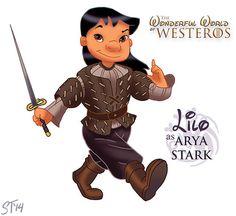 lilo as arya stark by Sam Tsui