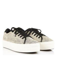 Baskets compensées Plato Sneaker imprimées animal Beige by NO NAME Baskets  Compensées, Boutique Femme, b1ccdf6c4868