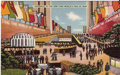 Entrance To The New York World's Fair 1939 - 1939-40 New York World's Fair