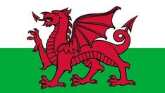 Welsh Town Names Are Impossible To Pronounce They Will Blow Your Mind - Skip The Flip Wales Flag, Flag Banners, Flags Of The World, Red Dragon, National Flag, Vibrant Colors, Canvas, Prints, Tela