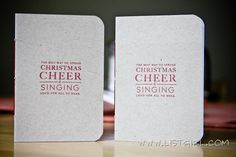 from listgirl, cute how to make little Christmas notebooks as presents ( or notebooks, really for any and all occasions and purposes)