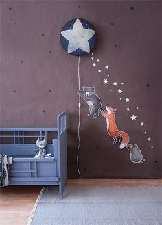 bear wall sticker by hartendief available soon together with sleepy moon wall kids rooms. Black Bedroom Furniture Sets. Home Design Ideas