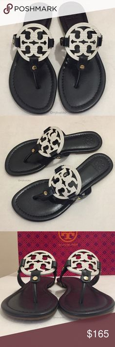 2088075d562 NEW✨HTF Tory Burch Miller Sandals NWOB✨Hard To Find Tory Burch Leather  Miller. Miller SandalTory BurchDust BagShoes Sandals
