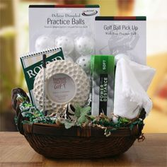Send your boss a unique Bosses Day Gift Basket to show your appreciation. Bosses Day gifts include everything from Spa & Pamper to Golf themes! Theme Baskets, Themed Gift Baskets, Raffle Baskets, Diy Gift Baskets, Fundraiser Baskets, Baskets For Men, Gift Basket For Men, Fathers Day Gift Basket, Stag And Doe