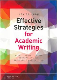 Effective strategies for academic writing
