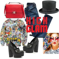 A fashion look from January 2014 featuring print shirts, blue jeans and black shoes. Browse and shop related looks. Printed Shirts, Blue Jeans, Black Shoes, Evening Dresses, Fashion Looks, Magic, Bride, Polyvore, Shopping