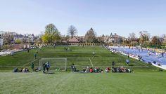 Sports & Arts Expansion at Gammel Hellerup Gymnasium,© Rasmus Hjortshoj