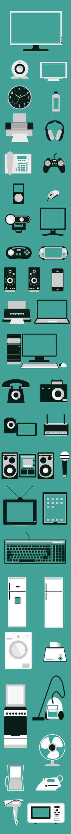 Flat elements by Adina Neculae, via Behance Flat Design Illustration, Graphic Illustration, Design Illustrations, Web Ui Design, Icon Design, Logo Design, Design Elements, Cool Designs, Character Design