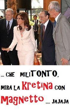 MAGNETO Y KRETINA | Flickr - Photo Sharing!